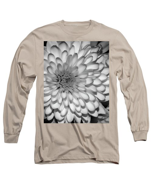 White Bloom Long Sleeve T-Shirt