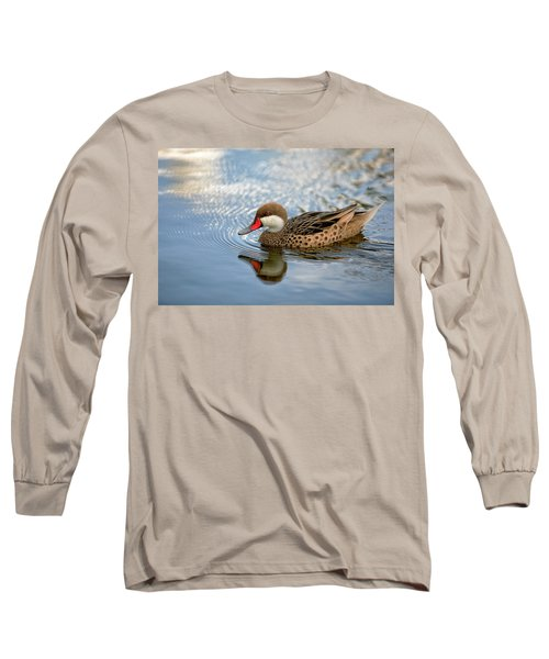 White-cheeked Pintail Long Sleeve T-Shirt