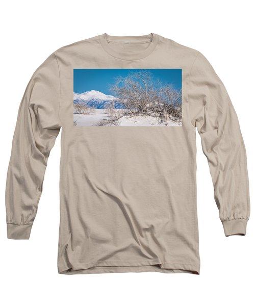 White Desert Long Sleeve T-Shirt