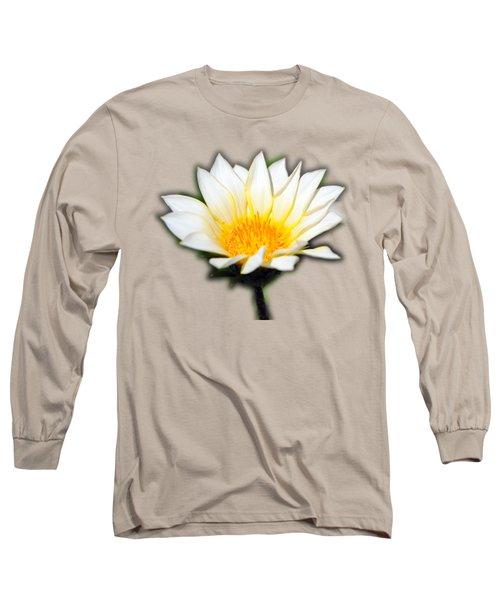 White Flower T-shirt Long Sleeve T-Shirt