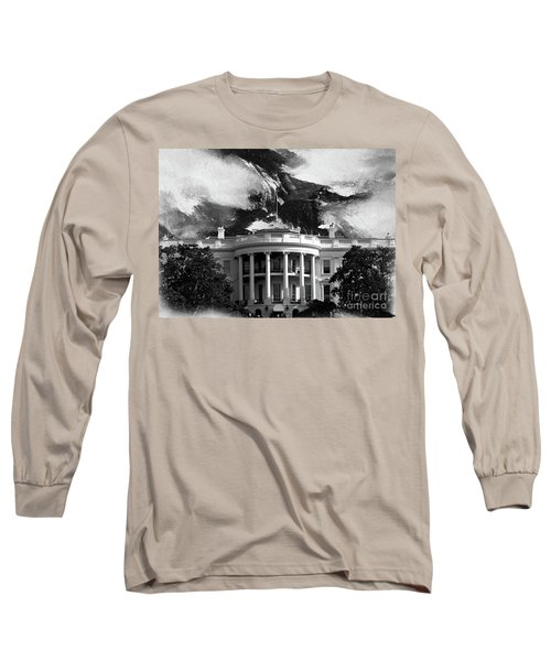 White House 002 Long Sleeve T-Shirt by Gull G