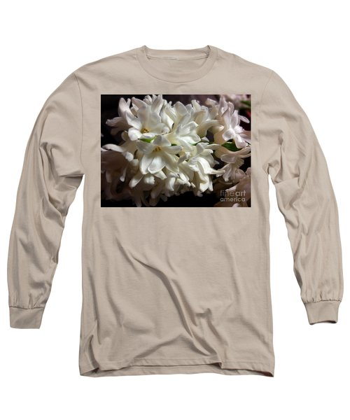 White Hyacinth Long Sleeve T-Shirt