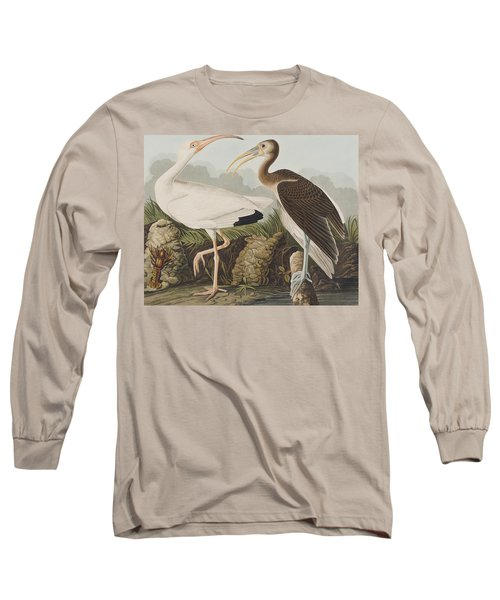 White Ibis Long Sleeve T-Shirt