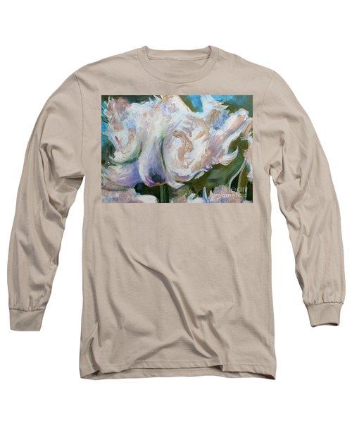 White Parrot Long Sleeve T-Shirt