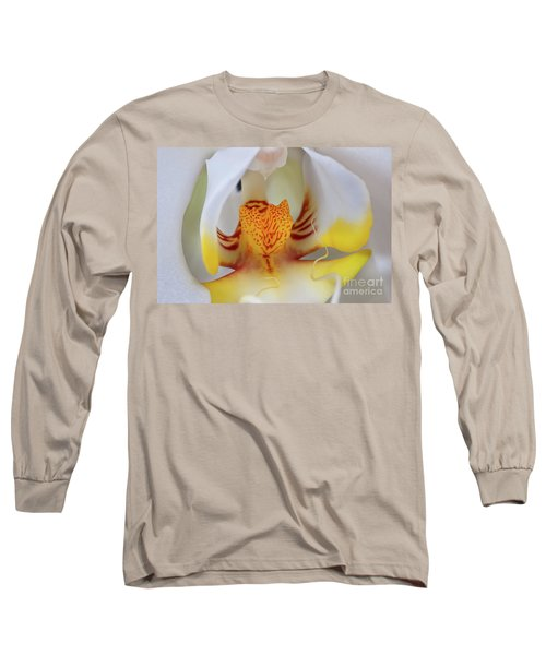 White Phalaenopsis Orchid 2 Long Sleeve T-Shirt