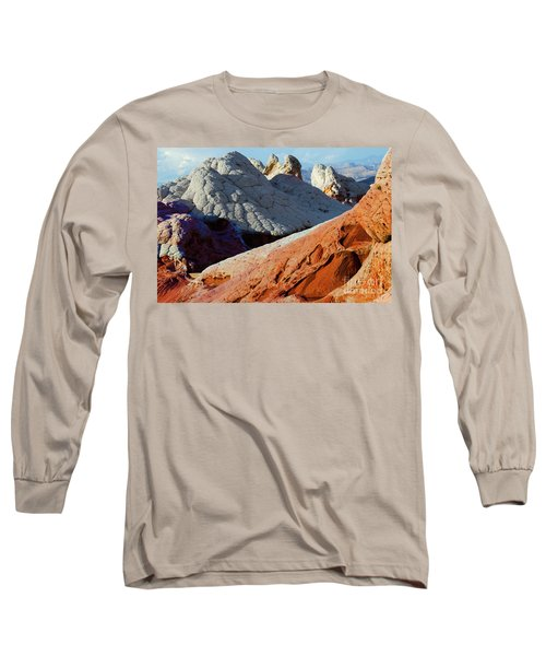 Long Sleeve T-Shirt featuring the photograph White Pocket 34 by Bob Christopher