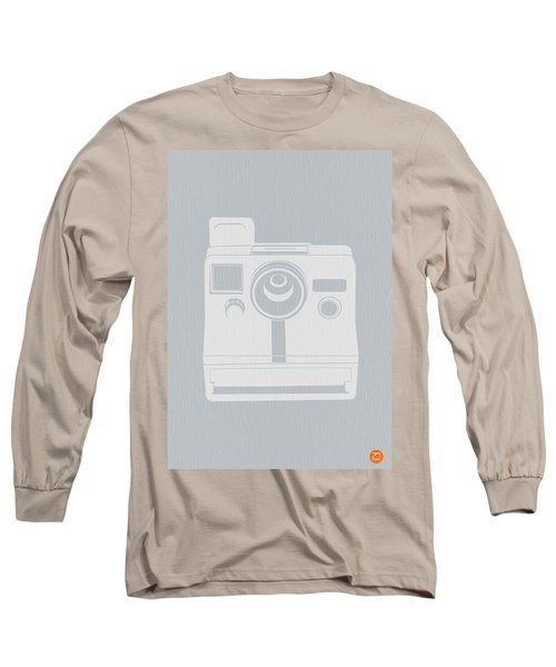 White Polaroid Camera Long Sleeve T-Shirt