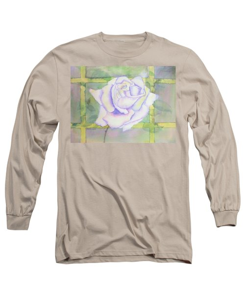 White Rose Long Sleeve T-Shirt