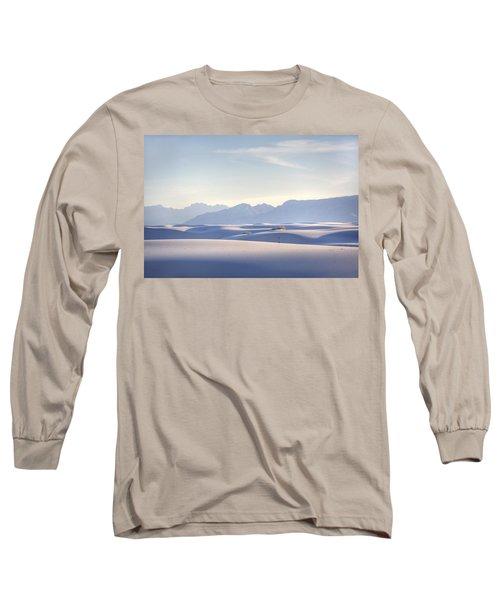 White Sands Blue Sky Long Sleeve T-Shirt