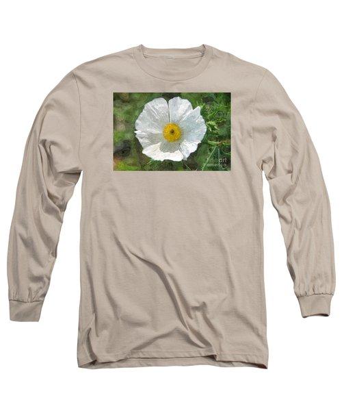 White Thistle Long Sleeve T-Shirt