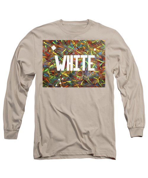 White Long Sleeve T-Shirt by Thomas Blood