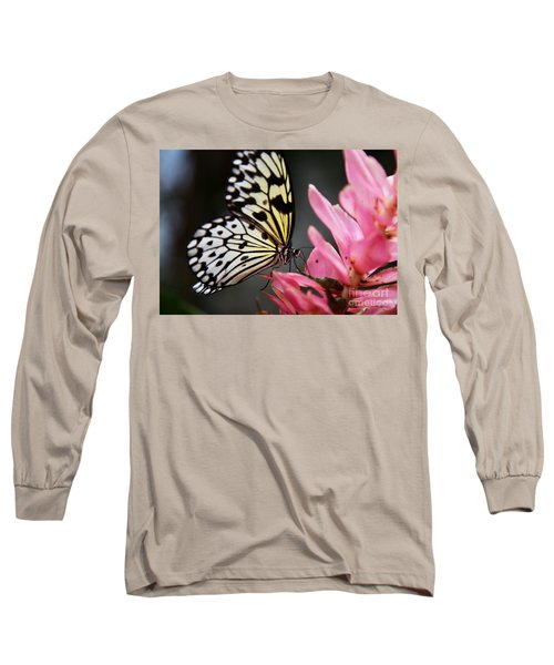 White Tree Nymph Long Sleeve T-Shirt