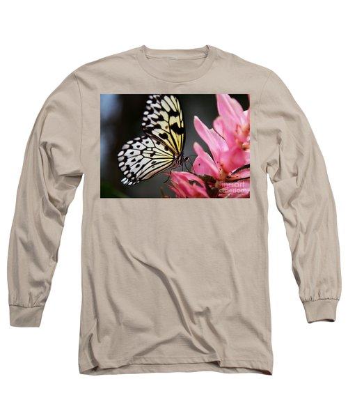 White Tree Nymph Long Sleeve T-Shirt