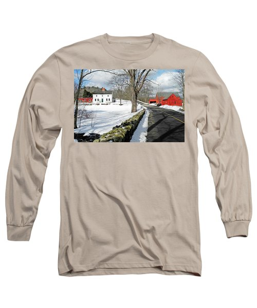 Whittier Birthplace Long Sleeve T-Shirt