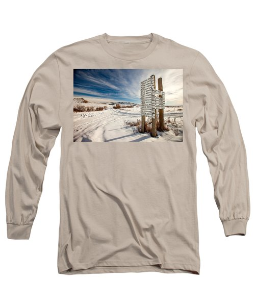 Who Lives Where Long Sleeve T-Shirt