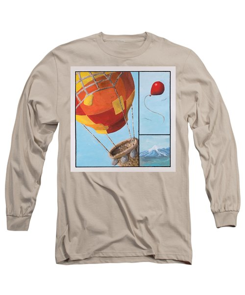 Who's Flying This Thing? Long Sleeve T-Shirt