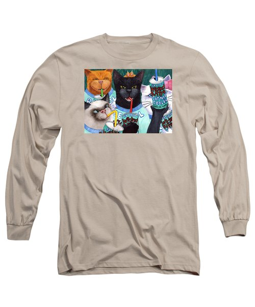 Wicked Kitty's Catnip Cooler Long Sleeve T-Shirt