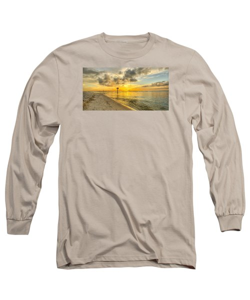 Wiggins Pass State Park Long Sleeve T-Shirt by Sean Allen