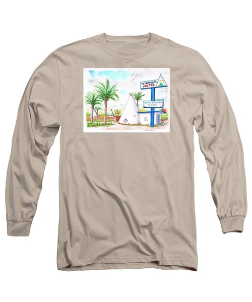 Wigman Motel, Route 66, San Bernardino, Ca Long Sleeve T-Shirt