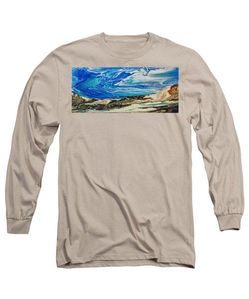 Wiinter At The Beach Long Sleeve T-Shirt