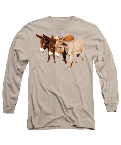Wild Burro Buddies Long Sleeve T-Shirt