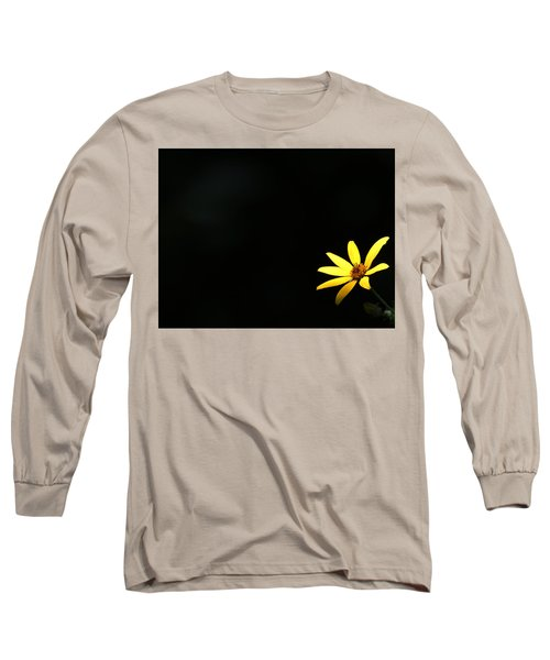 Wild Sunflower Stony Brook New York Long Sleeve T-Shirt