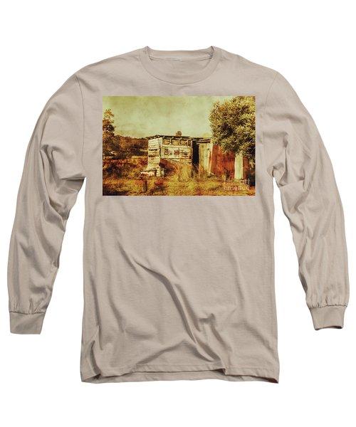 Wild West Australian Barn Long Sleeve T-Shirt