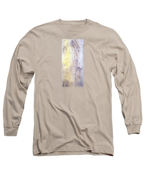 Wilderness Calligraphy - Aspen Tree Long Sleeve T-Shirt