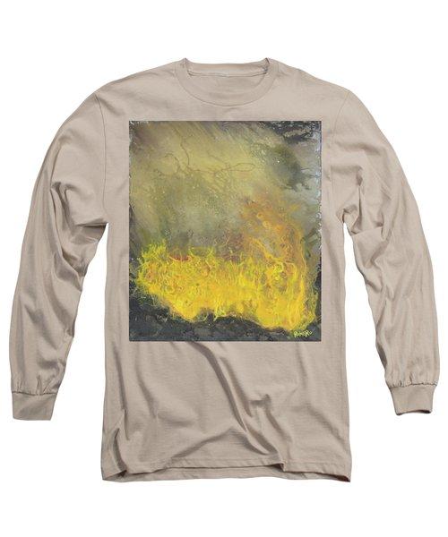 Wildfire Long Sleeve T-Shirt by Antonio Romero