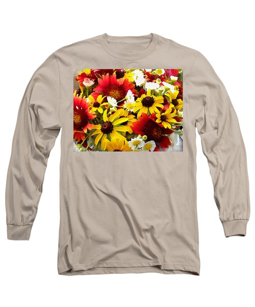 Wildflower Riot Long Sleeve T-Shirt