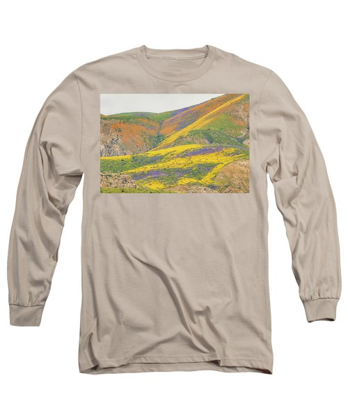 Long Sleeve T-Shirt featuring the photograph Wildflowers At The Summit by Marc Crumpler