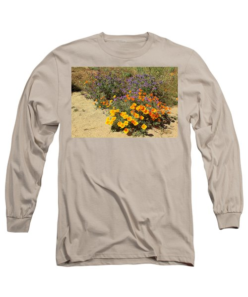 Wildflowers In Spring Long Sleeve T-Shirt