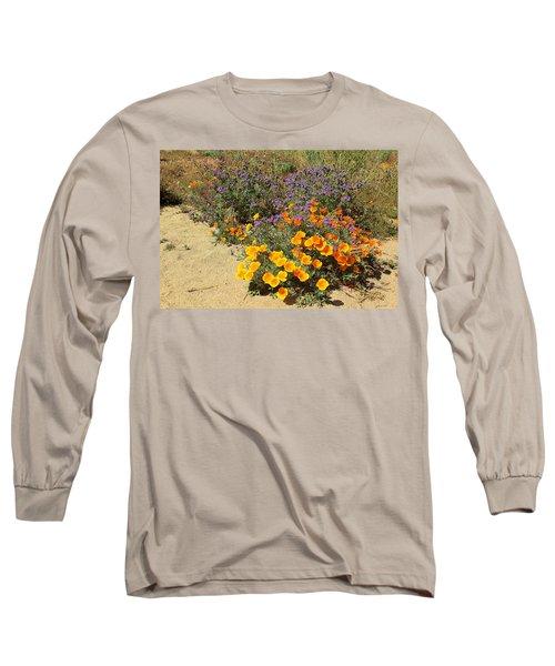 Wildflowers In Spring Long Sleeve T-Shirt