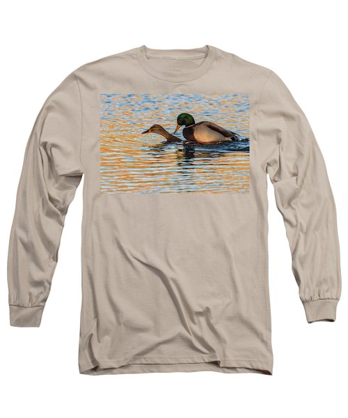 Wildlife Love Ducks  Long Sleeve T-Shirt