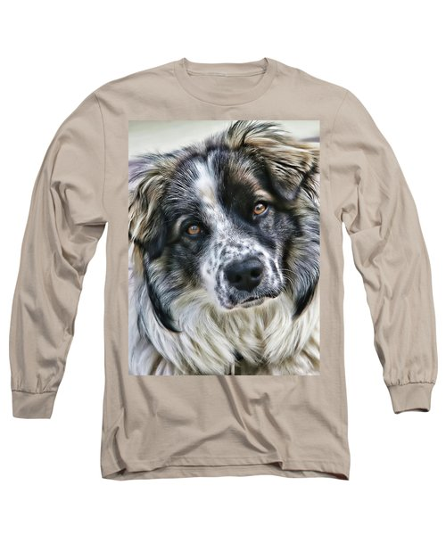Long Sleeve T-Shirt featuring the photograph Will You Be My Friend by Rhonda McDougall