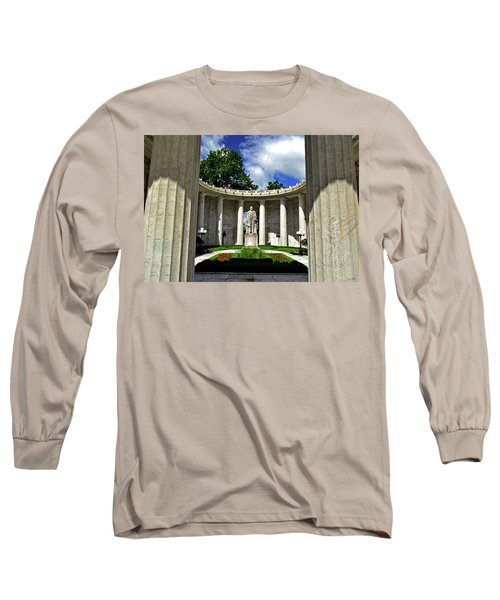 Long Sleeve T-Shirt featuring the photograph William Mckinley Memorial 002 by George Bostian