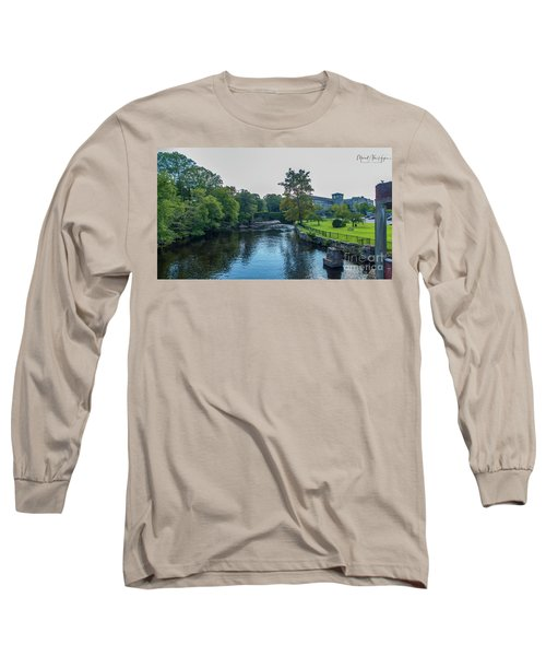 Willimantic River Long Sleeve T-Shirt