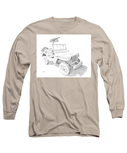 Willy In Ink Long Sleeve T-Shirt