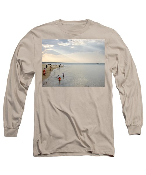 Wilmette Beach Labor Day 2009 Long Sleeve T-Shirt
