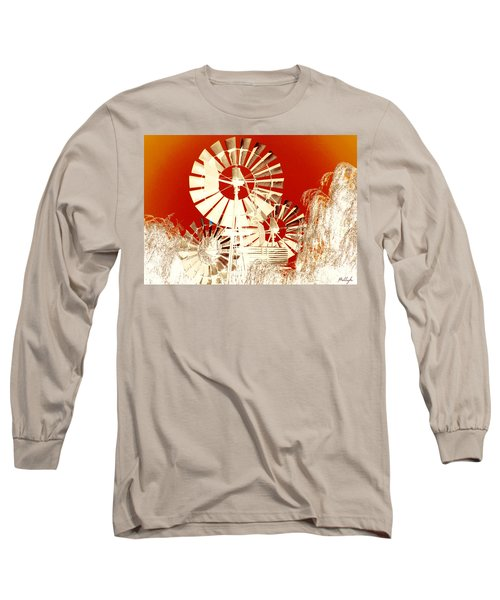 Long Sleeve T-Shirt featuring the photograph Wind In The Willows by Holly Kempe