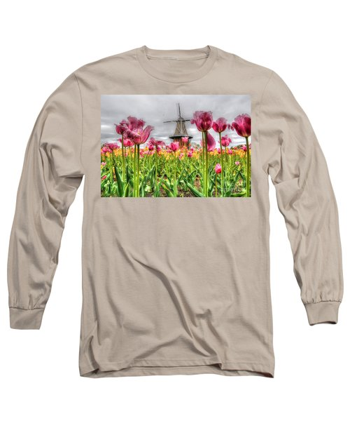 Long Sleeve T-Shirt featuring the photograph Windmill Island by Robert Pearson