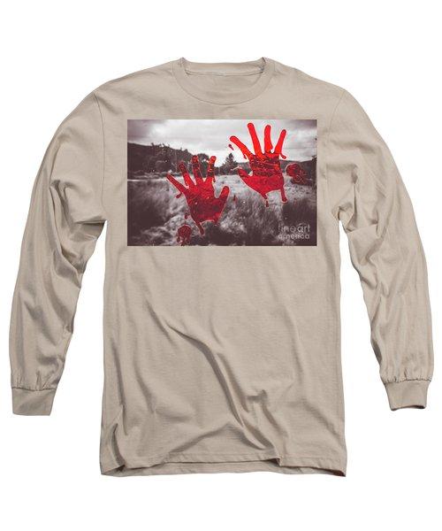 Window Pain Long Sleeve T-Shirt