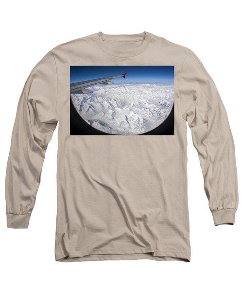 Window To Himalaya Long Sleeve T-Shirt