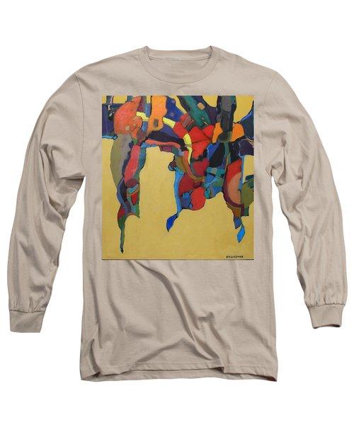 Long Sleeve T-Shirt featuring the painting Windsong by Bernard Goodman