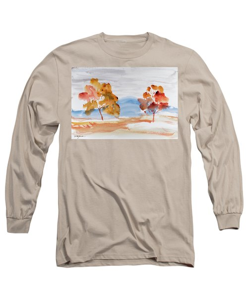 Windy Autumn Colours  Long Sleeve T-Shirt