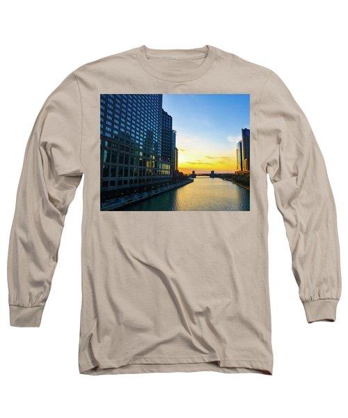 Windy City Sunrise Long Sleeve T-Shirt