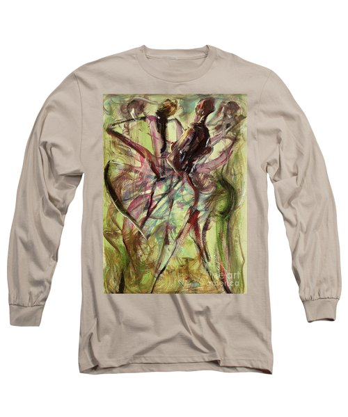 Windy Day Long Sleeve T-Shirt by Ikahl Beckford