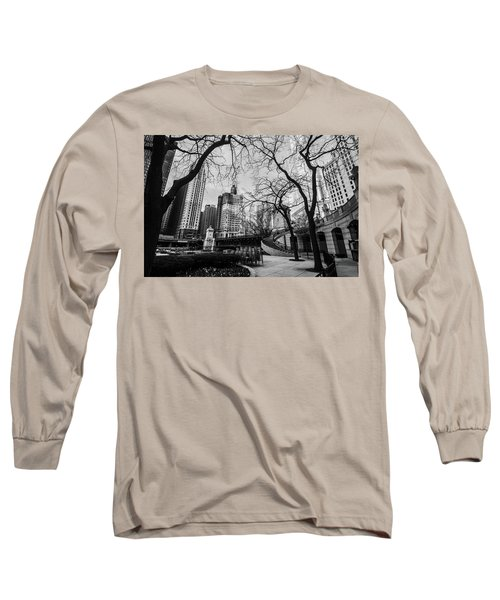 Windy Mornings In The Chi  Long Sleeve T-Shirt