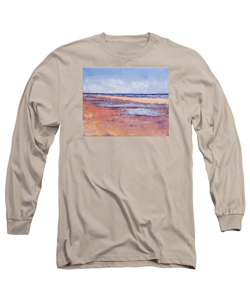 Windy October Beach Long Sleeve T-Shirt