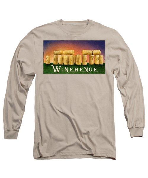 Winehenge Long Sleeve T-Shirt